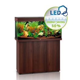 Juwel Rio LED 180 SBX dunkles Holz Aquariumkombination
