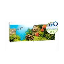 Juwel Rio LED 450 SBX Aquariumkombination  Weiß