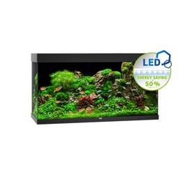 Juwel Rio LED 350 Aquarium Set  Schwarz