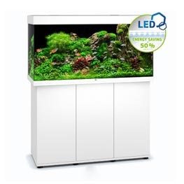 Juwel Rio 350 LED SBX weiß Aquariumkombination