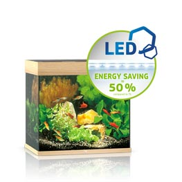 Juwel Lido 120 LED Aquarium Set helles Holz