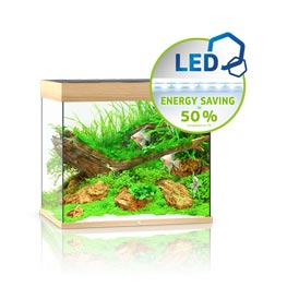 Juwel Lido 200 LED Aquarium Set helles Holz