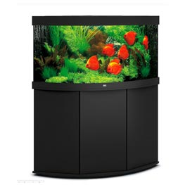 Juwel Trigon 350 LED SBX schwarz Aquarienkombination