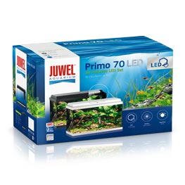 Juwel Primo 70 LED Aquarien Set  Weiß