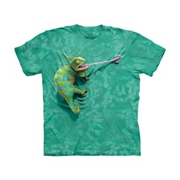 The Mountain T-Shirt Child Climbing Chamelion  M