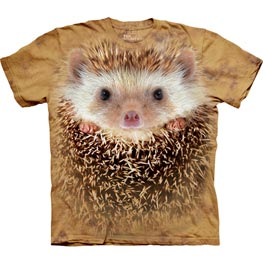 The Mountain T-Shirt Child Big Face Hedgehog  L