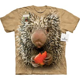 The Mountain T-Shirt Baby Porcupine  L