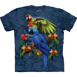 The Mountain T-Shirt Tropical Friends  S