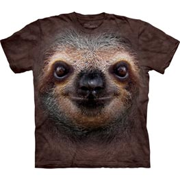 The Mountain T-Shirt Sloth Face  M
