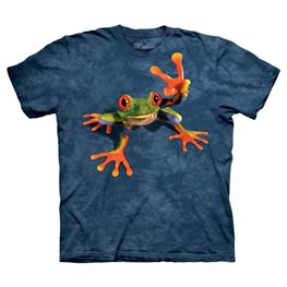 The Mountain T-Shirt Victory Frog  L