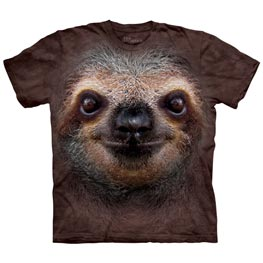 The Mountain T-Shirt Sloth Face  3XL