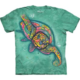 The Mountain T-Shirt Russo Turtle  L
