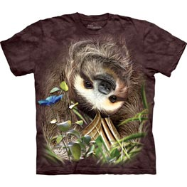 The Mountain T-Shirt Sloth  L