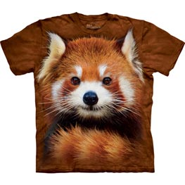 The Mountain T-Shirt Red Panda Portrait  XXL