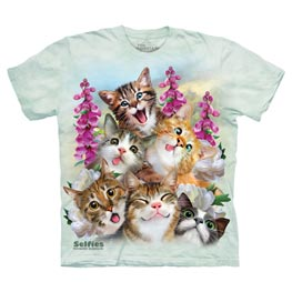 The Mountain T-Shirt Kitten Selfie  5XL