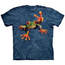 The Mountain T-Shirt Child Victory Frog  L