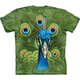 The Mountain T-Shirt Vibrant Peacock  XL