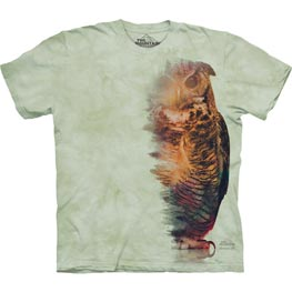 The Mountain T-Shirt Woodsy Owl  L