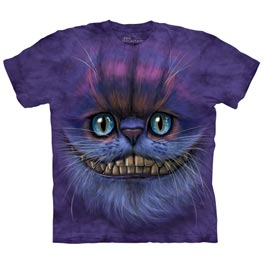 The Mountain T-Shirt Big Face Cheshire Cat  4XL