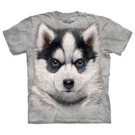 The Mountain T-Shirt Child Siberian Husky Puppy M