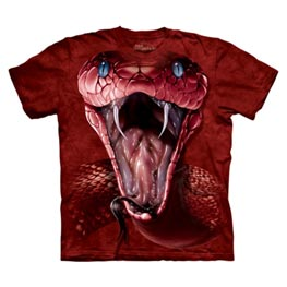 The Mountain T-Shirt Red Mamba Adult Large Reptiles Gr. L