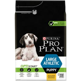 Pro Plan: Large Athletic Puppy mit Optistart, reich an Huhn, 3 kg