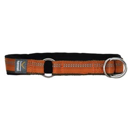 Kennel Equip Half Choke Halsband orange  42-52cm