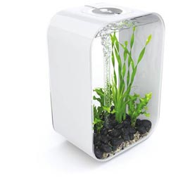 biOrb Life 45 Aquariumset MCR LED weiß  37,5x25,5x56cm