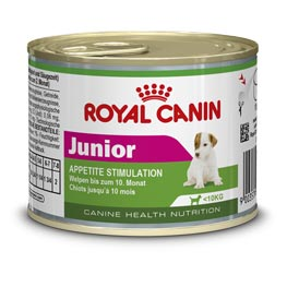 Royal Canin Junior Appetit Stimulation, Nassfutter für Welpen, 195g