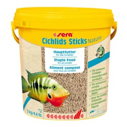 Sera: Cichlids Sticks  10 Liter