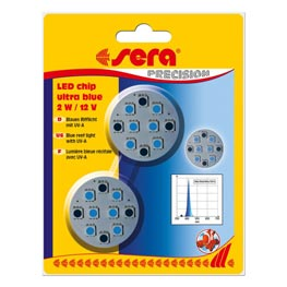 Sera: LED Chip Ultra Blue 2 Watt  2 Stk.