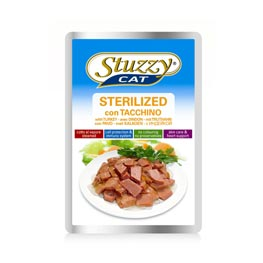 Stuzzy Cat Sterilized mit Truthahn  100g