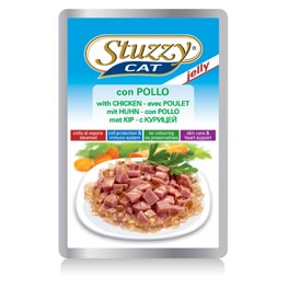 Stuzzy Cat jelly mit Huhn  100g
