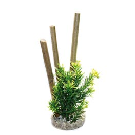 Sydeco Bamboo Forest Plants grün 25 cm