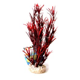 Sydeco: Sea Grass Medium Kunstpflanze rot 25cm