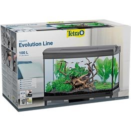 Tetra: Aqua Art LED Evolution Line Aquarium-Komplett-Set  100 Liter
