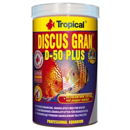 Tropical Discus Gran D-50 Plus 1000ml / 440g