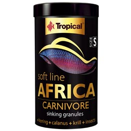 Tropical Africa Carnivore size S  250ml