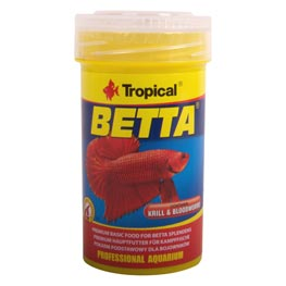 Tropical Betta Flockenfutter f. Kampffische  100 ml / 25 g