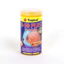 Tropical: D-50 Plus Flakes  250ml / 50g