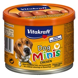 Vitakraft dog Minis Chicken  120 g