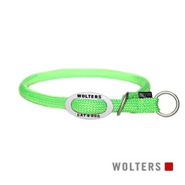 Wolters Cat & Dog Schlupfhalsband K2 40cm x 9mm  neon lime