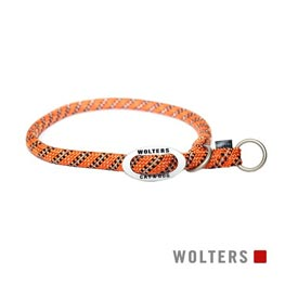 Wolters Cat & Dog Schlupfhalsband Everest 50cm x 13mm  orange/schwarz