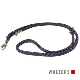 Wolters Cat & Dog Everest Führleine 200cm x 9mm  pflaume/lavendel