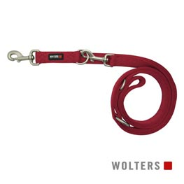 Wolters Cat & Dog Führleine Professional Classic Gr. M 200cm x 15mm  himbeer
