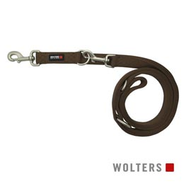 Wolters Cat & Dog Führleine Professional Classic Gr. M lang 300cm x 15mm  tabac