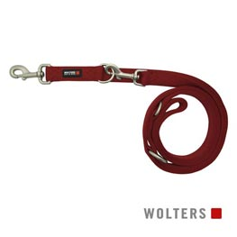 Wolters Cat & Dog Führleine Professional Classic Gr. L lang 300cm x 20mm  rot