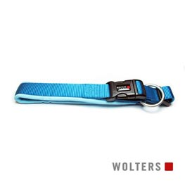 Wolters Cat & Dog Halsband Professional Gr. 2 30-35cm x 25mm  aqua/azur