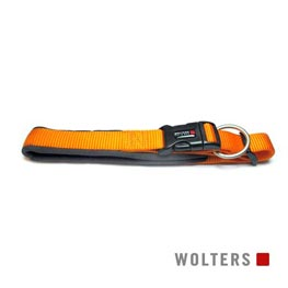 Wolters Cat & Dog Halsband Professional Gr. 5 45-50cm x 30mm  mango/schiefer