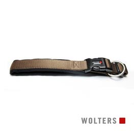 Wolters Cat & Dog Halsband Professional Gr. 8 60-65cm x 35mm  tabac/schwarz